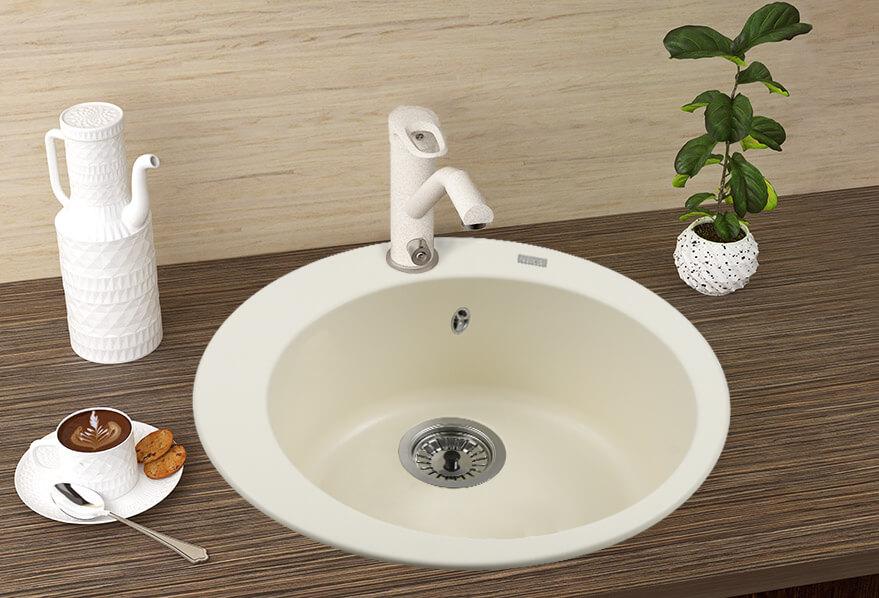 зображення кам'яні мийки FABIA (CREMA) 500x200