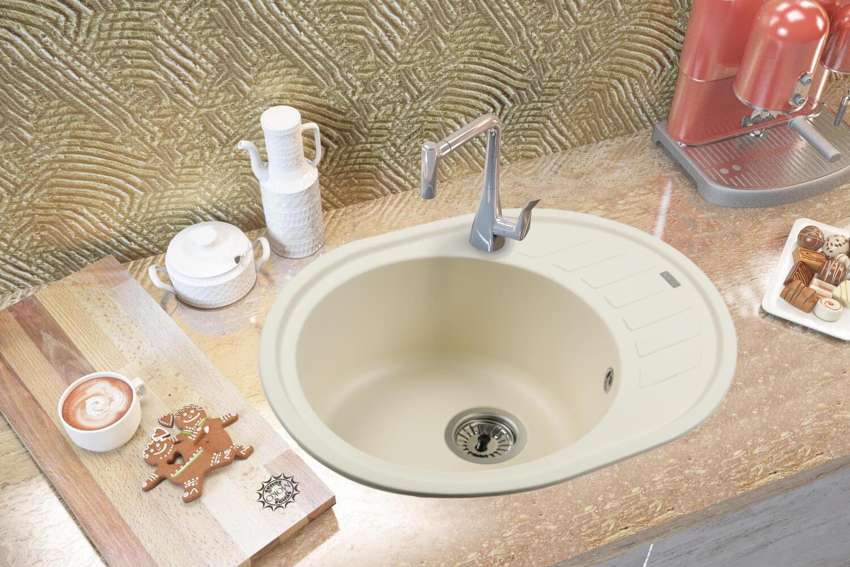 фото кам'яні мийки MONICA (CREMA) 620x500x200