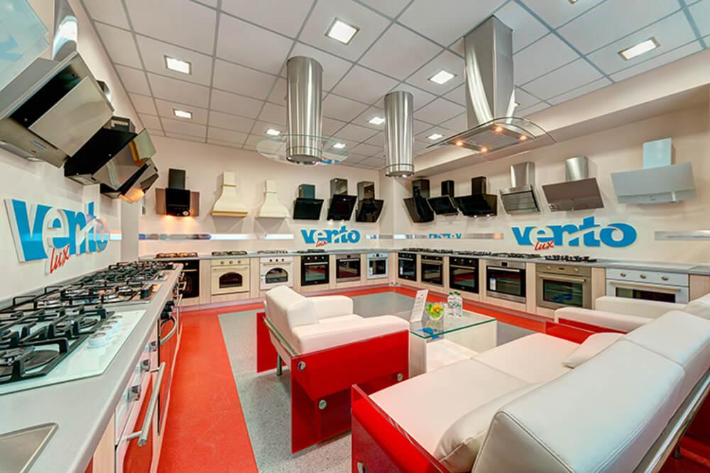 Виставкова зала (Шоурум) Ventolux - витяжки, духовки, варильні поверхні, посудомийки, міні-печі, мікрохвильовки та мийки