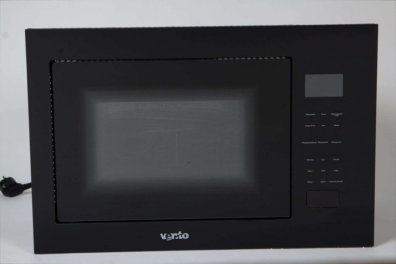 фото вбудована мікрохвильова пічка MWBI 25 G BK TC від Ventolux