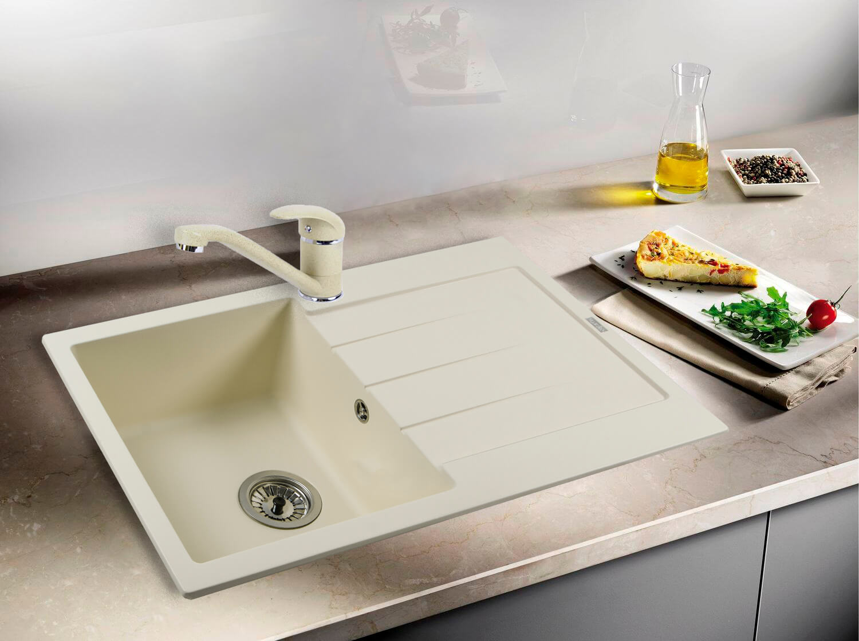 фото кам'яна мийка STELLA (CREMA) 780x500x200 Ventolux